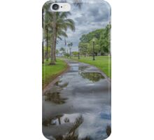 A Reflective Walk  iPhone Case/Skin