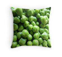 Peas Throw Cushion Throw Pillow