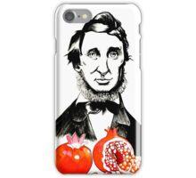 Abe & Pomegranate iPhone Case/Skin