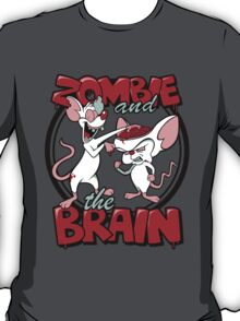 Zombie and the Brain T-Shirt