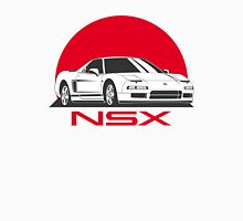 Honda NSX (white red) Unisex T-Shirt