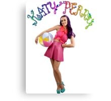 Katy Perry Beach Ball Canvas Print