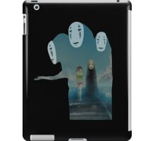 Kaonashi And Ogino Chihiro Spirited Away | Sen To Chihiro No Kamikakushi iPad Case/Skin