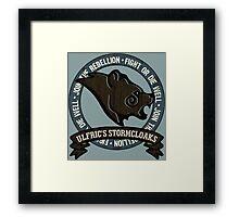 Join the Stormcloak Rebellion Framed Print