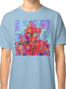 Superheros Type Font Series - Abstract Spider Pop Art Comic Classic T-Shirt