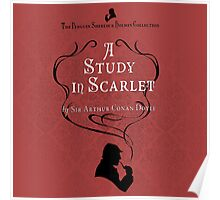 Sherlock Holmes - A Study in Scarlet Poster