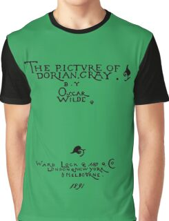 Picture of Dorian Gray 1809 Cover Graphic T-Shirt