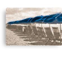 Distant Beach memories  Canvas Print