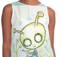 Alien and Airplane Contrast Tank