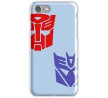 Transformers checkered insignia iPhone Case/Skin