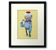 Bubblegum Machine Framed Print