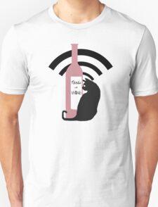 Nerds with Wine Icon Unisex T-Shirt