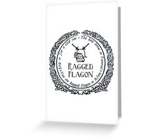 Visit the Ragged Flagon! Greeting Card