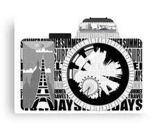 camera - holiday snaps Canvas Print