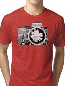 camera - holiday snaps Tri-blend T-Shirt