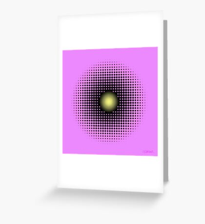 PULSATIONS Greeting Card