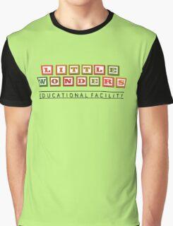 Bioshock Little Wonders Educational Facility Logo Graphic T-Shirt