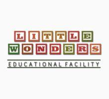 Bioshock Little Wonders Educational Facility Logo Kids Tee