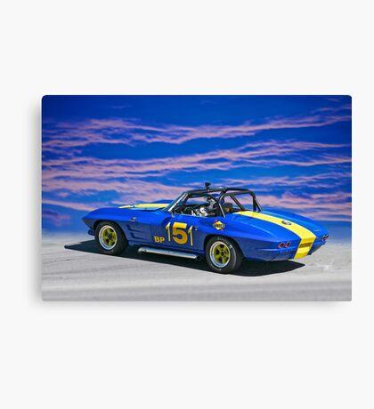 1964 Corvette Vintage Racecar II Canvas Print