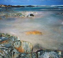 Blue Rocks Bay by Angelika  Vogel