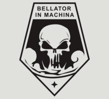 XCOM Enemy Within - Bellator In Machina Black Logo by metacortex