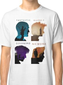 The Four New Doctors( Doctor Who) Classic T-Shirt