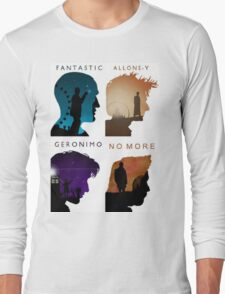 The Four New Doctors( Doctor Who) Long Sleeve T-Shirt