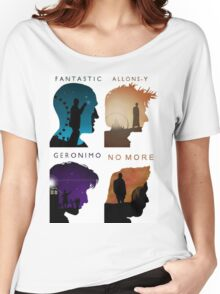The Four New Doctors( Doctor Who) Women's Relaxed Fit T-Shirt