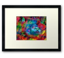 Turn that frown upside down Framed Print