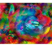 Turn that frown upside down Photographic Print