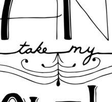 Can't Help Falling in Love Sticker