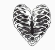 skeleton rib cage heart by maisie-jane-