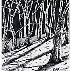 'Woods for the Trees' #2  by Jerry Kirk