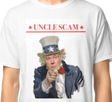 Donald Trump is Uncle Scam! Classic T-Shirt