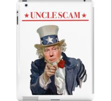 Donald Trump is Uncle Scam! iPad Case/Skin