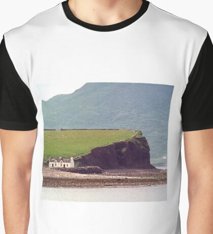 Cottages, Ring of Kerry, Ireland Graphic T-Shirt