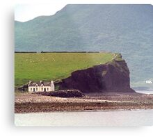 Cottages, Ring of Kerry, Ireland Metal Print