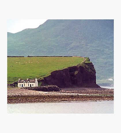 Cottages, Ring of Kerry, Ireland Photographic Print