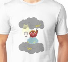 God of thunder! Stamp of Inazuma Mamehati. Unisex T-Shirt