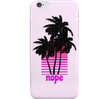 Nope iPhone Case/Skin