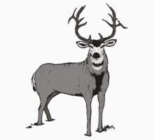 Trophy buck art by saltypro
