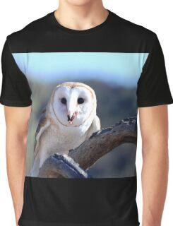 Barn Owl Graphic T-Shirt