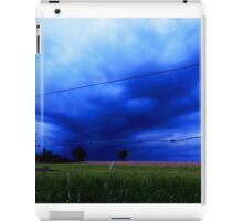 Landscape - stormy day (2016) iPad Case/Skin
