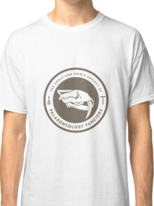 The Society of Palaeontology Fanciers (Brown on White) Classic T-Shirt
