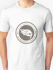 The Society of Palaeontology Fanciers (Brown on White) T-Shirt
