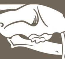 The Society of Palaeontology Fanciers (Brown on White) Sticker