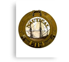 Nautical Life For Me Canvas Print