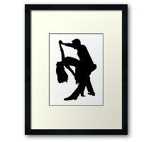 Dancing couple Framed Print