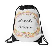 Douche Canoe Drawstring Bag