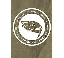 The Society of Palaeontology Fanciers Print Photographic Print